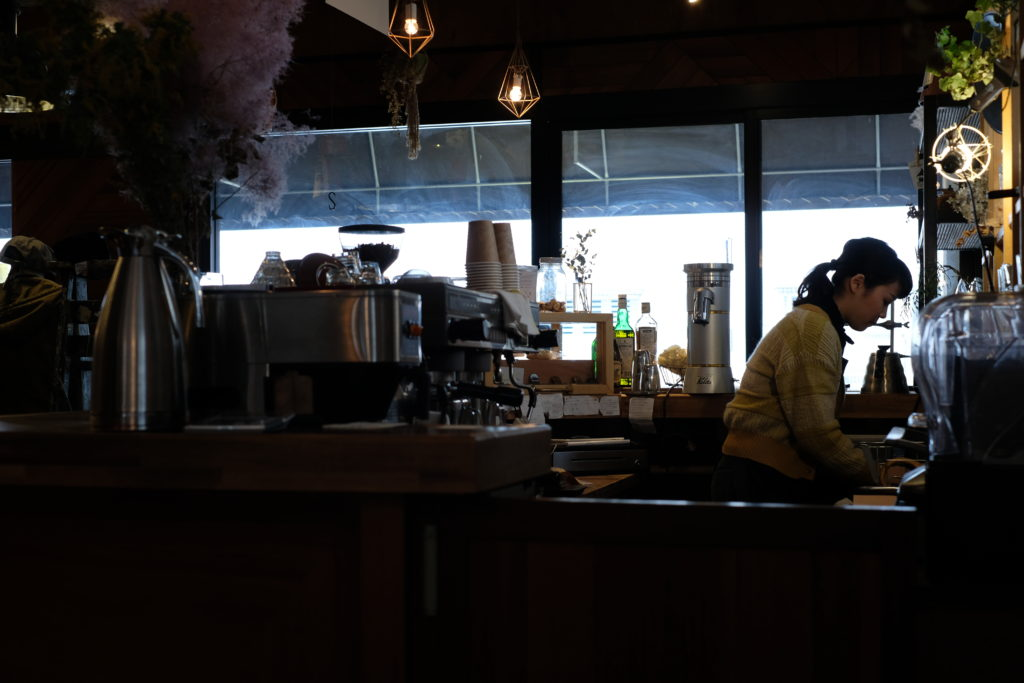 グラモコーヒー店内