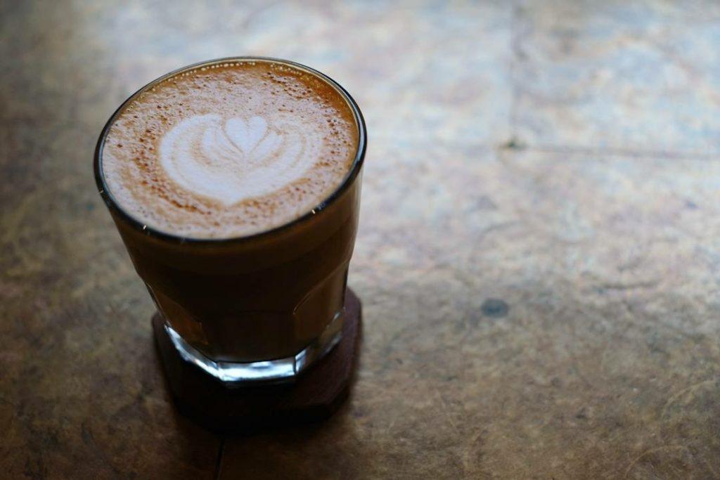 グラモコーヒーのカフェラテ