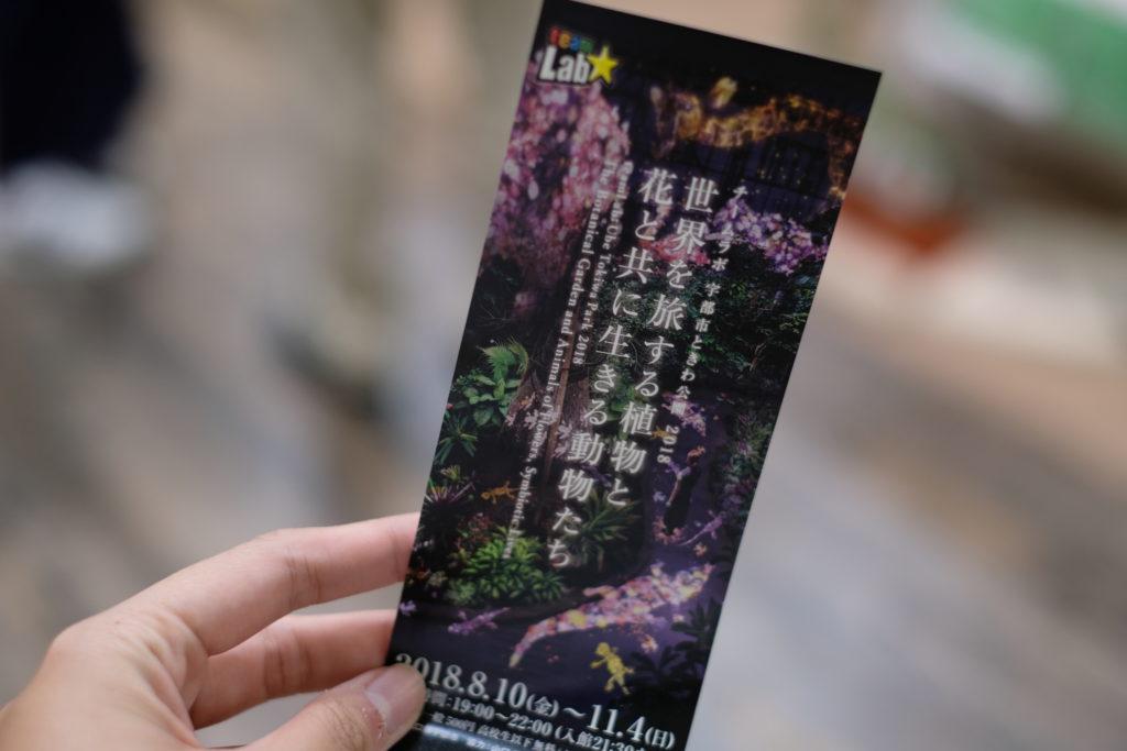 チームラボ 世界を旅する植物と 花と共に生きる動物たち